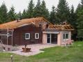 Ein neues Dach wird aufgesetzt
