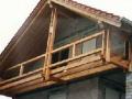 aufgehänger Balkon an First- und Fußfette