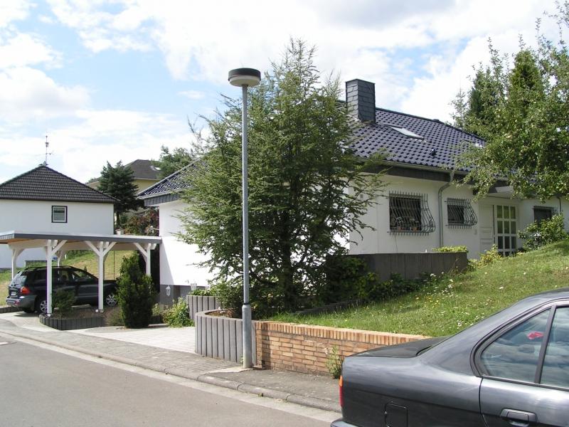 Carport Mit Flachdacheindeckung Und Schieferortgang Archive